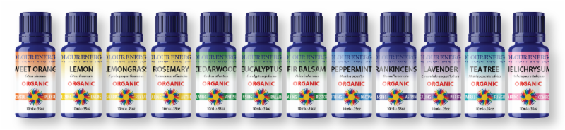 Organic Certified Essential Oil Kit